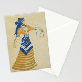 Minoan Woman Stationery Cards