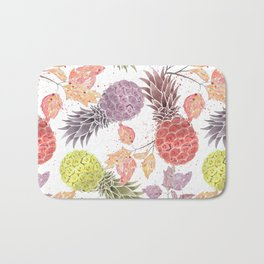 Juicy pineapple. Bath Mat
