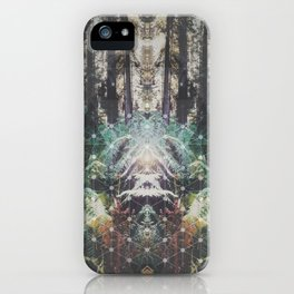 Forest Grid iPhone Case