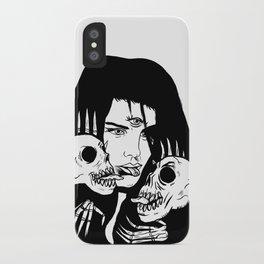 Lady Death Trip iPhone Case