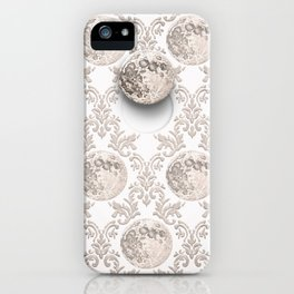 In which the moon frees itself  iPhone Case