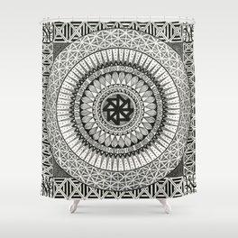 Mandala3 Shower Curtain