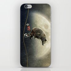 balancing act (under the weather) iPhone Skin