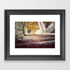 The Fall of the Matinee Framed Art Print
