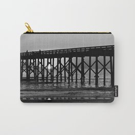 Black & White Pier Carry-All Pouch