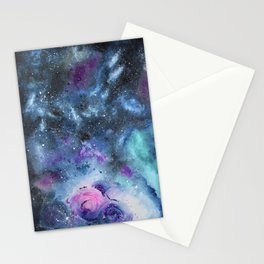 Gemini Galaxy Stationery Cards