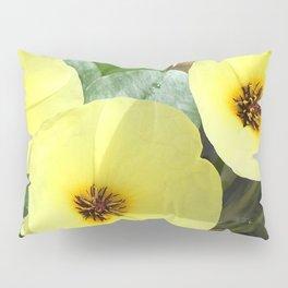 Water Flowers Pillow Sham