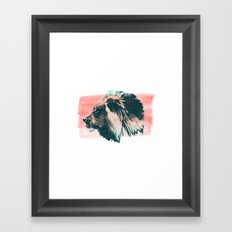 Leader Framed Art Print