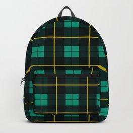 Minimalist Wallace Hunting Tartan Ancient Backpack