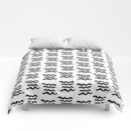 Abstract Hand Drawn Patterns No.12 Comforters