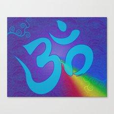 Mantra ... Aom Canvas Print