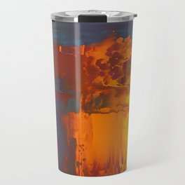 Layers of Solid Color Travel Mug