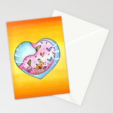 All a Flutter Stationery Cards