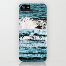 Moody Waves iPhone Case