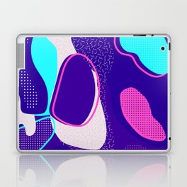 Mint and Lavender Abstracts Collection, Pattern 1 Laptop & iPad Skin