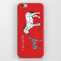 bad idea iPhone & iPod Skins featuring bad idea by Balazs Solti