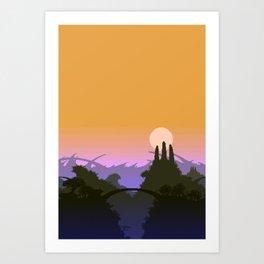 Landscape XLV Art Print