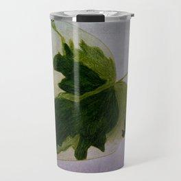 leaf drawing Travel Mug