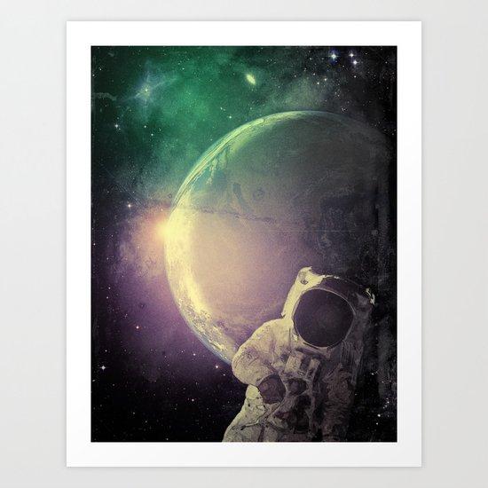 Adventure In Space Art Print