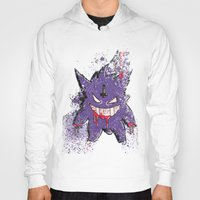 gengar Hoodies featuring Gengar Mega (dark twist) by Oscar Da Chef Karlsson