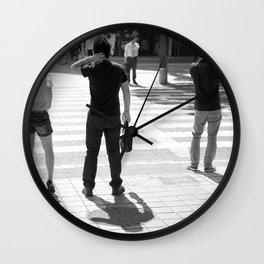 Minor Adjustments Wall Clock