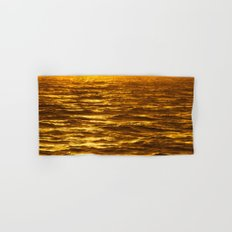Gold Ocean Hand & Bath Towel
