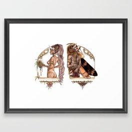 An Earthly Love Framed Art Print