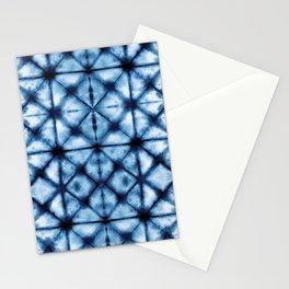 Shibori Paper Blues Stationery Cards