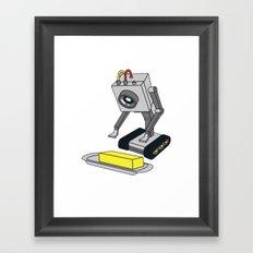 Rick & Morty Pass The Butter Framed Art Print