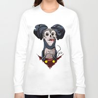 creepy Long Sleeve T-shirts featuring Creepy Mickey by tshirtsz