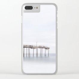 Frisco Pier (color) Clear iPhone Case