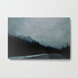 Canadian Rockies (2) Metal Print