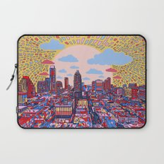 austin texas city skyline Laptop Sleeve