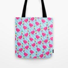 Party Flamingos Tote Bag