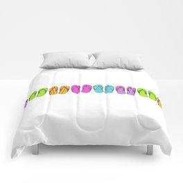 Flip Flop Conga Comforters