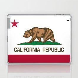 California flag, High Quality Authentic Laptop & iPad Skin