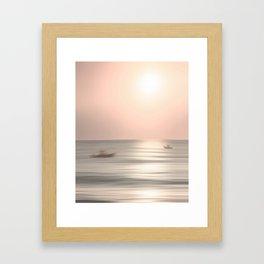 Fisherman's Sunrise by Murray Bolesta Framed Art Print