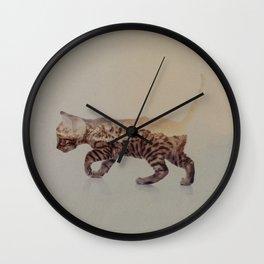 Cat: Bengal Kitten Wall Clock