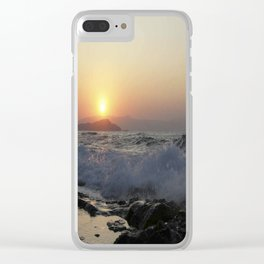 Crete, Greece 5 Clear iPhone Case