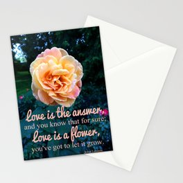 Let it Grow  Stationery Cards