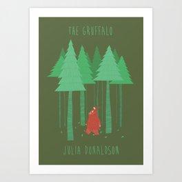 The Gruffalo fan poster Art Print