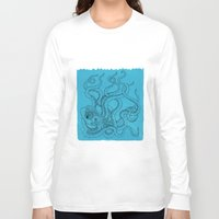 octopus Long Sleeve T-shirts featuring Octopus by David Penela