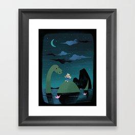Night Falls Framed Art Print