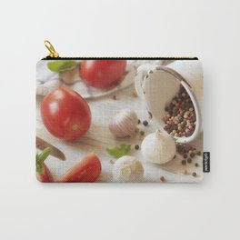 Fresh herbs and Spice for kitchen Carry-All Pouch