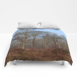 Dreamy Winter Oaks Comforters