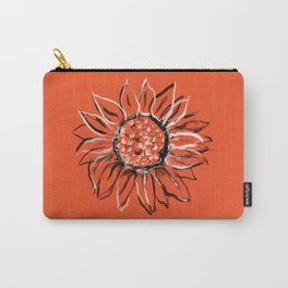 Sunflower - orange Carry-All Pouch