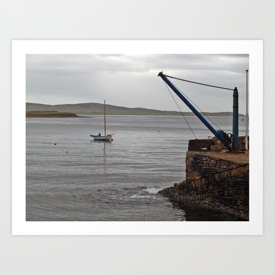 At Stromness Art Print