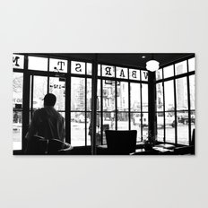 New York Café Canvas Print