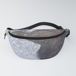 Watercolor Elk Cow 6 Fanny Pack