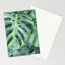 Palm leaves print Stationery Cards